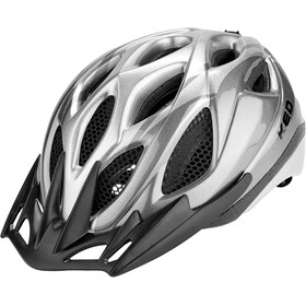 KED Tronus Kask rowerowy, anthracite silver